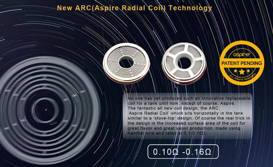 coil Nerilo Aspire SkyStar Revvo Kit